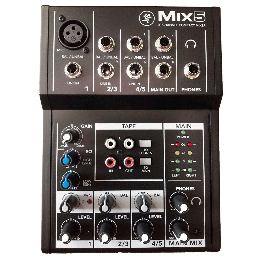 Аналоговый микшерный пульт Mackie Mix5
