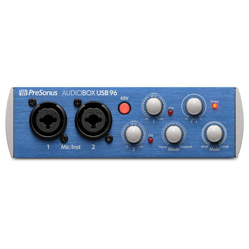 Внешняя студийная звуковая карта PreSonus AudioBox USB 96